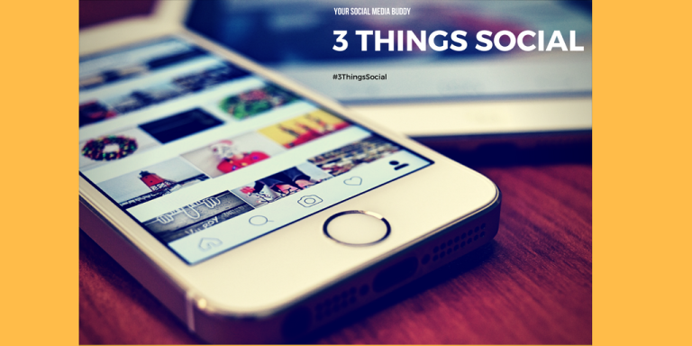 3 things social