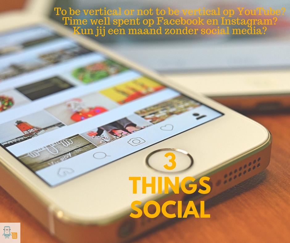 Kun jij een maand zonder social media?