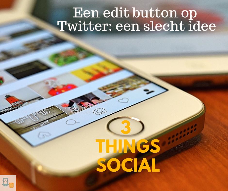 Edit button op Twitter cover