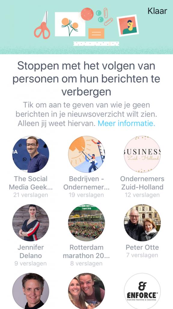 Wat wil je niet meer zien op Facebook