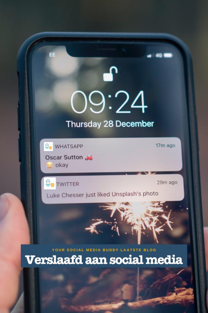 Hoe wordt je social media verslaafd?